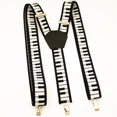 Kšandy černo bílé klavír Xandy 90133