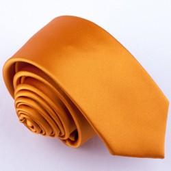 Úzká žlutá kravata Greg 99182
