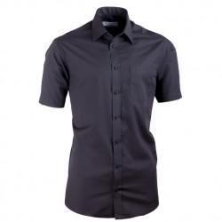 Černá košile Aramgad vypasovaná 40131