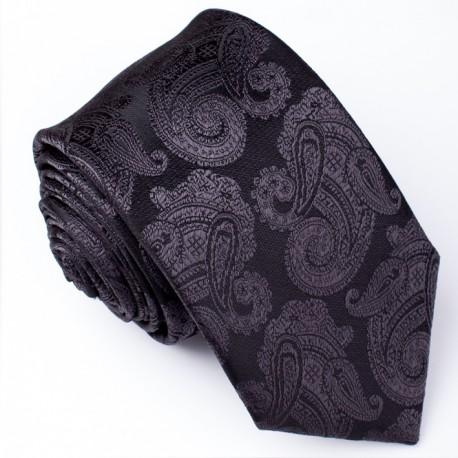 Pánská šedá kravata Greg 91168