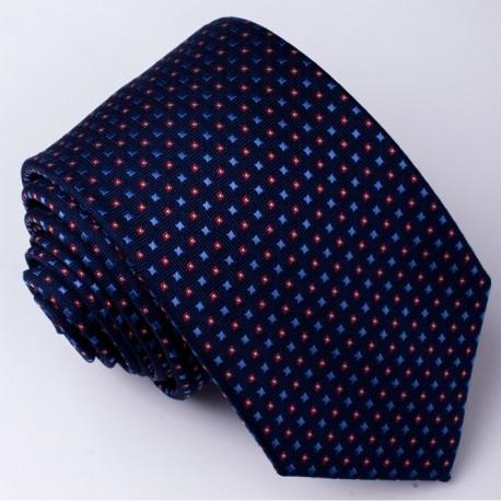 Pánská modrá kravata Rene Chagal 94218