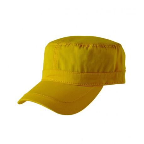 Žlutá čepice vojenského stylu Cofee 81162