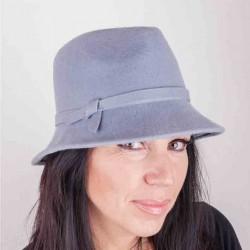 Šedý dámský klobouk Assante 86975