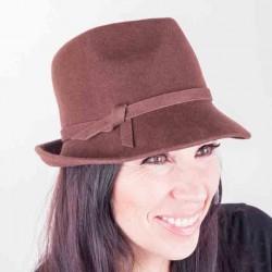 Hnědý dámský klobouk Assante 86977