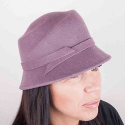 Fialový dámský klobouk Assante 86990