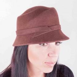 Hnědý dámský klobouk Assante 86992