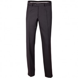 Černé pánské společenské kalhoty Assante 60501