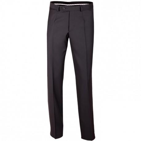Černé pánské společenské kalhoty na výšku 176 – 182 cm Assante 60501