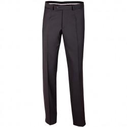 Extra prodloužené pánské černé kalhoty Assante 60503