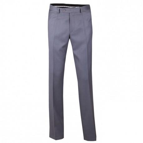 Extra prodloužené pánské šedé kalhoty společenské na výšku 188 – 194 cm Assante 60513