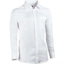 Bílá pánská košile Assante rovná 30050