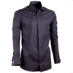Černá pánská košile Assante vypasovaná 30149