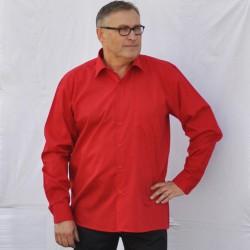 Prodloužená košile červená Friends and Rebels 20303