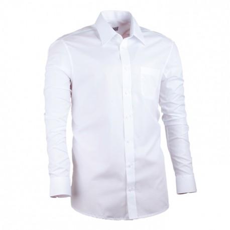 Bílá nadměrná pánská košile rovná Assante 31011