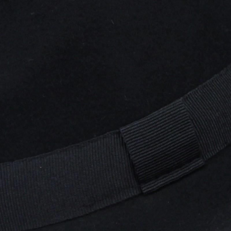 1eb78dbbb28 Černý pánský klobouk Assante 85006  Černý pánský klobouk Assante 85006 ...