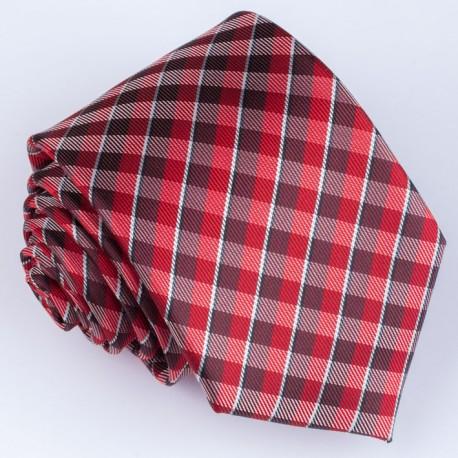 Pánská červená kravata Greg 93026