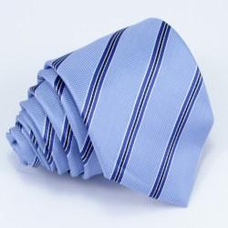 Pánská modrá kravata Rene Chagal 94083