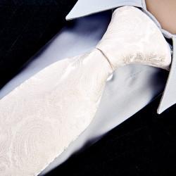 Svatební kravata smetanová Greg 91113
