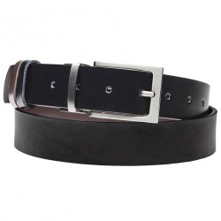 Černý hnědý opasek ke kalhotám Assante 90803