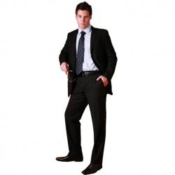 Černý pánský oblek společenský fa Vorite 160618