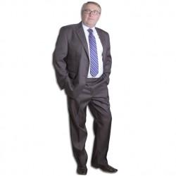 Šedý pánský oblek společenský Galant 160621