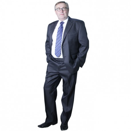 Šedý pánský oblek společenský na výšku 176 - 182 cm Galant 160630 7978e60837