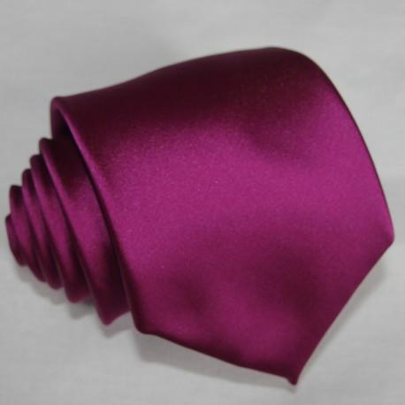 Pánská fialová jednobarevná kravata Rene Chagal 99978