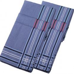 Modré pánské kapesníky 40x40cm balení 6 ks Etex 90606