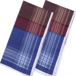Modré pánské kapesníky 40x40cm balení 6 ks Etex 90607
