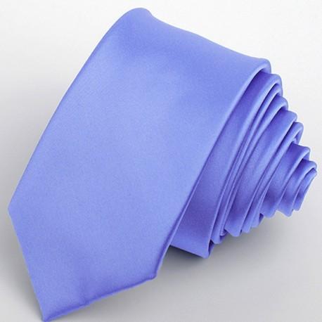 Modrá slim kravata Greg 99144