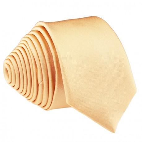 Meruňková světlá kravata slim fit Romendik 99173