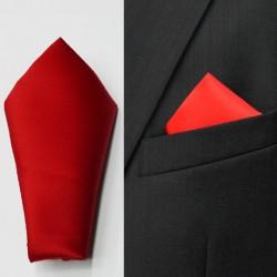 Červený kapesník do saka Assante 90631