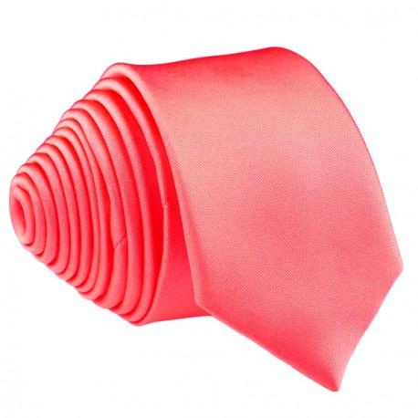 Korálová kravata slim fit Romendik 99159
