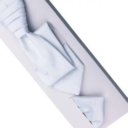 Svatební regata bílá - Anglická kravata Assante 90685
