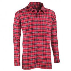 Červená flanelová košile dlouhá Friends and Rebels 30818