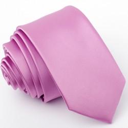 Slim lila kravata Greg 99161