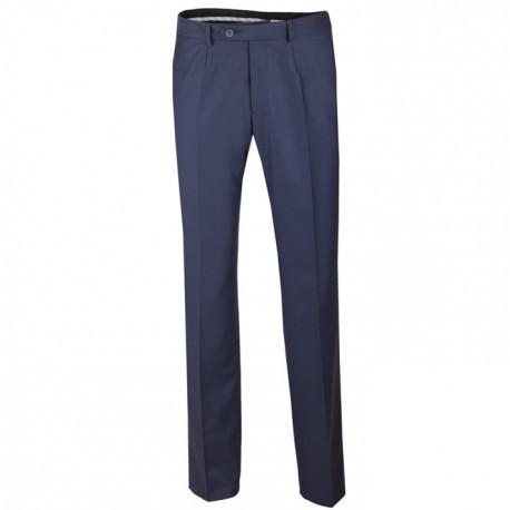 Nadměrné prodloužené pánské společenské kalhoty modré na výšku 182 – 188 cm Assante 60522