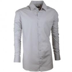5dc21d4b37d Pánská košile Assante slim fit šedá 30171