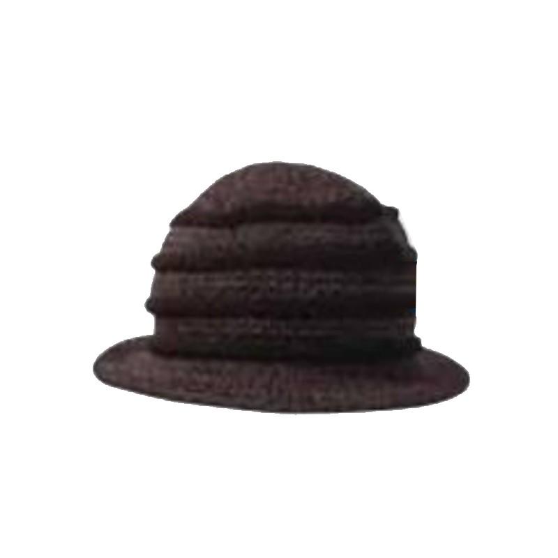 a66f54c259f Černý klobouk dámský Pletex 87588