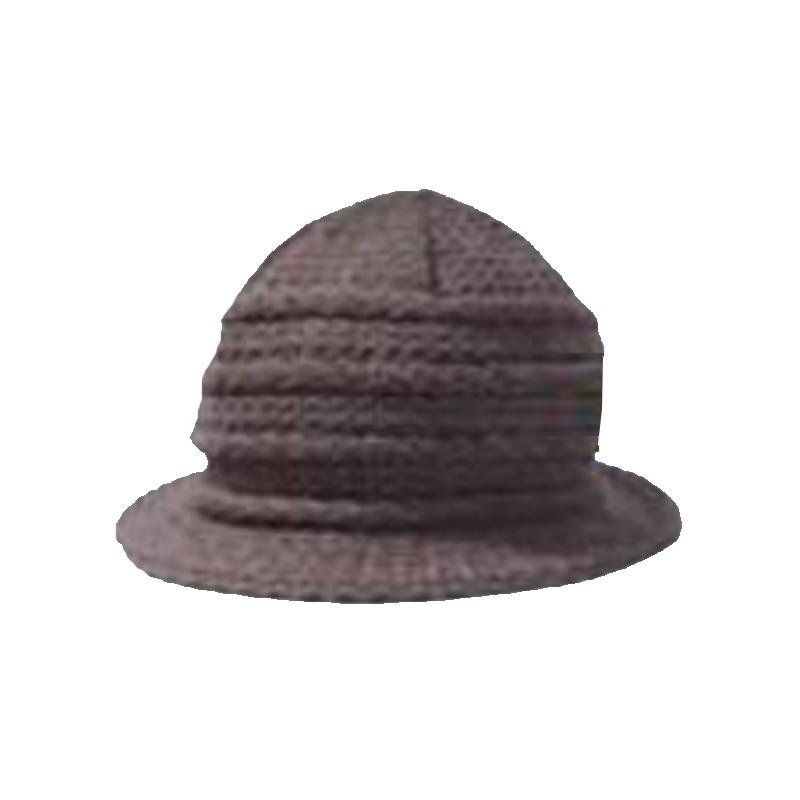 21241bfd962 Šedý klobouk dámský Pletex 87590