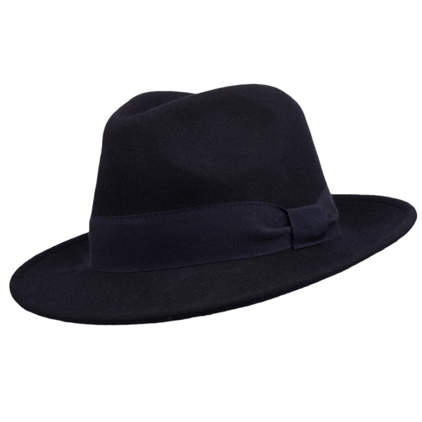b3c7f362c5c Modrý pánský klobouk Assante 85067