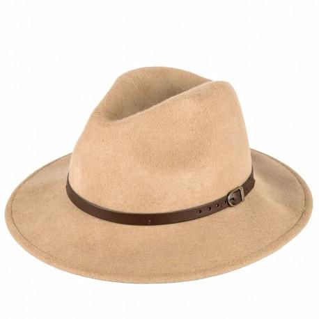 Hnědý pánský klobouk Felt 161006