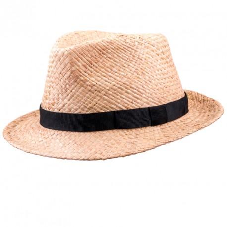 2dccd828cb8 Béžový pánský slaměný klobouk Assante 80005