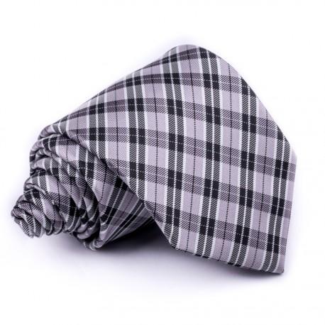 Pánská šedá kravata Greg 91057