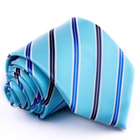 Modrá kravata klasická společenská Greg 94094
