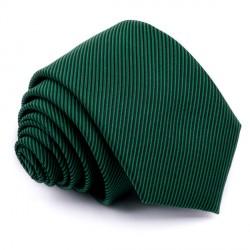 Lahvově zelená kravata Greg 95002