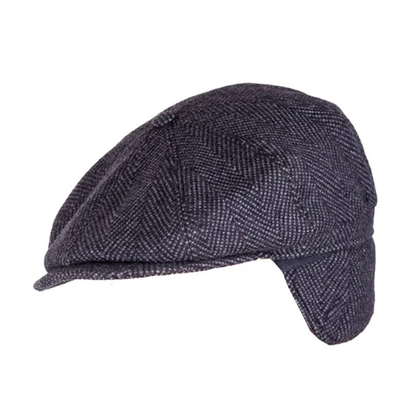 4c8ac2846 Pánská čepice černá bekovka Assante 85226