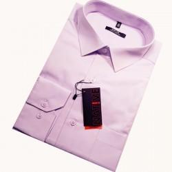 Pánská košile fialová s dlouhým rukávem rovná Native 30318