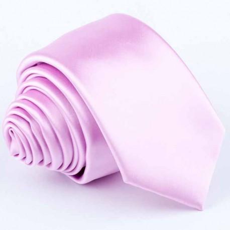 Růžová kravata Greg 99132