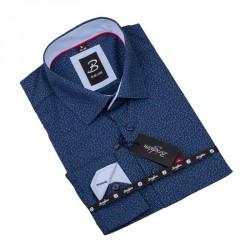 Vzorovaná košile Brighton tmavě modrá 109921